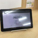映像授業用タブレット。複数台用意してあります。