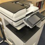コピー機。生徒も自由に使うことができます。